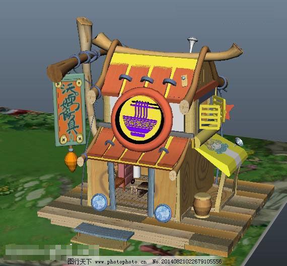 游戏原画 原画设计 游戏场景人物设计 原画设计 游戏3d模型 建筑 卡通