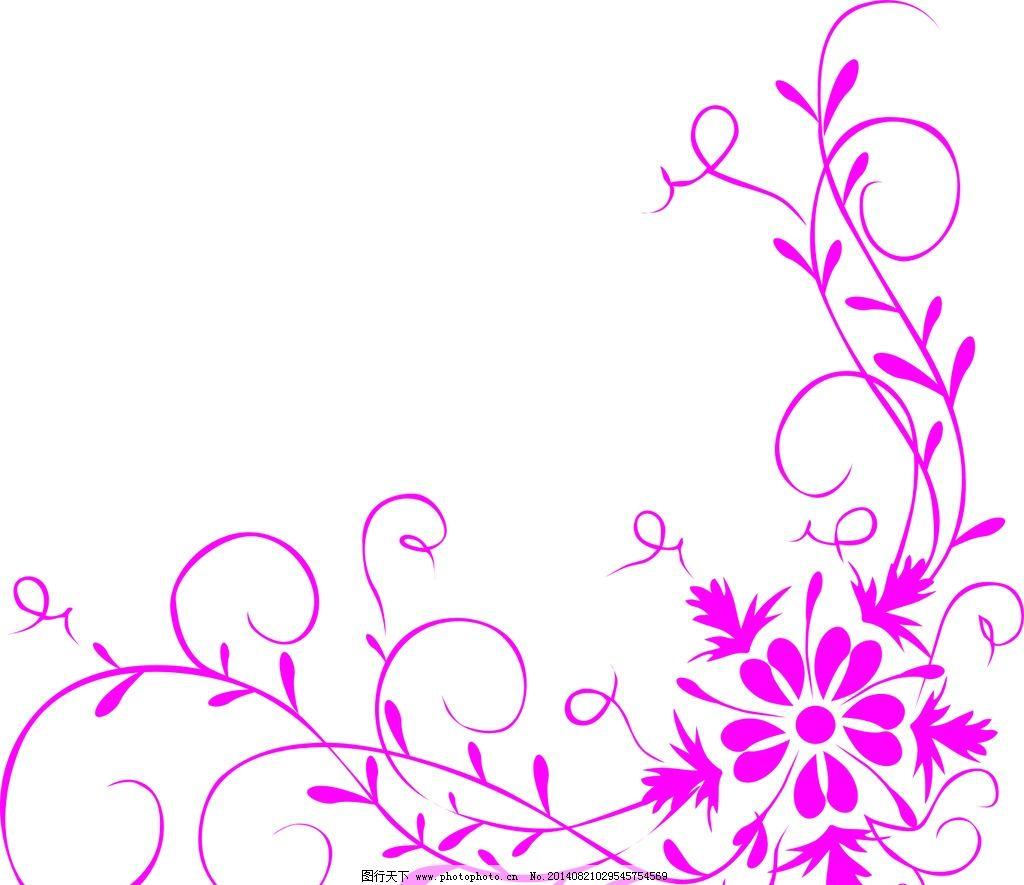 花纹 藤蔓 移门图案 角花 玻璃移门 叶子 背景 藤蔓角花 共享设计素材