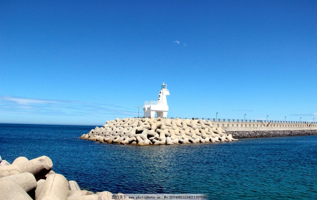 济州岛 济州岛旅游 灯塔 韩国旅游 海边 蓝色海洋 国外旅游 摄影
