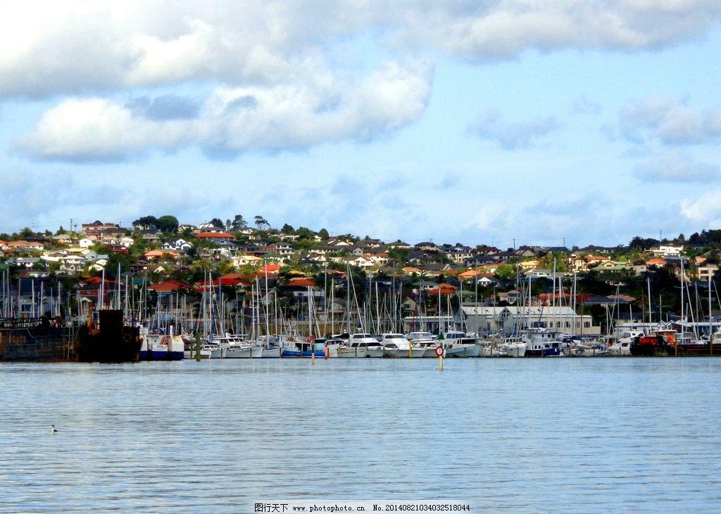 新西兰码头风景图片
