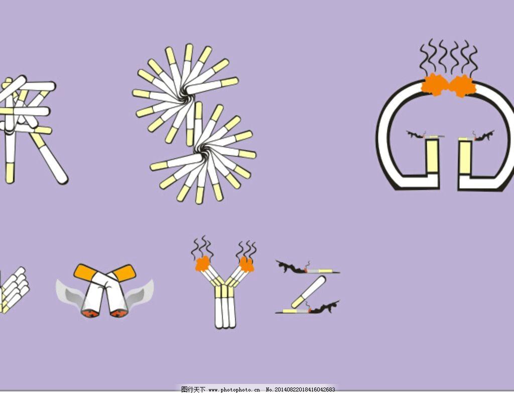 24字母设计图片_风景漫画