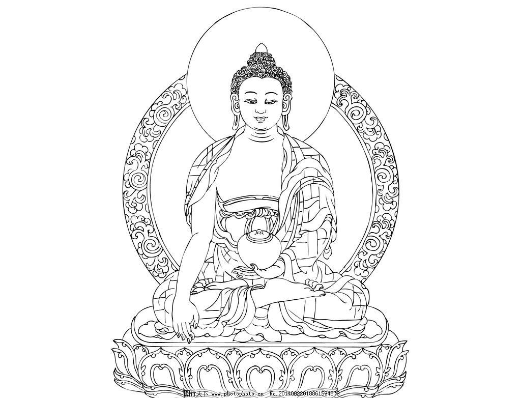 佛教��.d9�c9��i)�aj_手绘敦煌佛教佛像菩萨图片