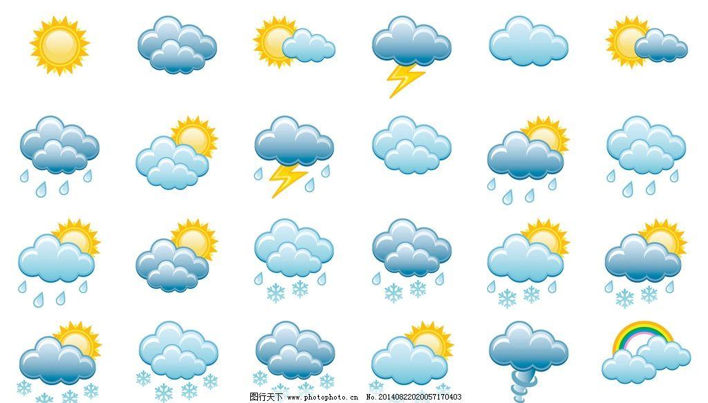 天气预报图标图片_网页小图标
