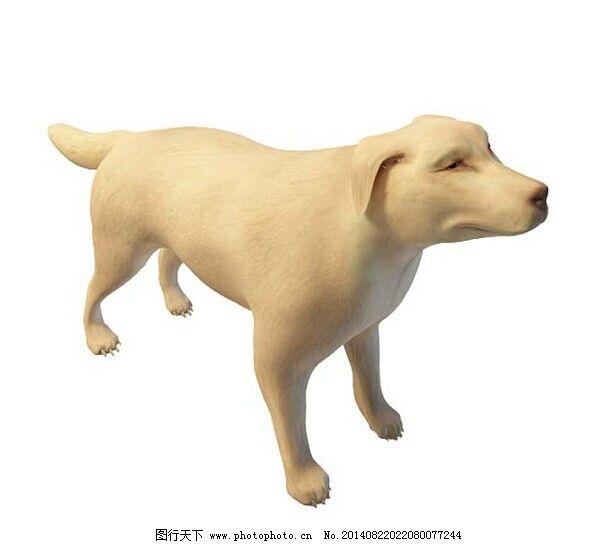 狼狗3d模型免费下载 爬行动物 狼狗模型 冷血动物 四足动物 哺乳类 3d