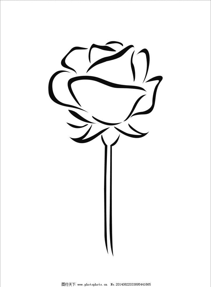 玫瑰 玫瑰花 花朵 花素材 矢量花 花 图片素材 其他 设计 cdr