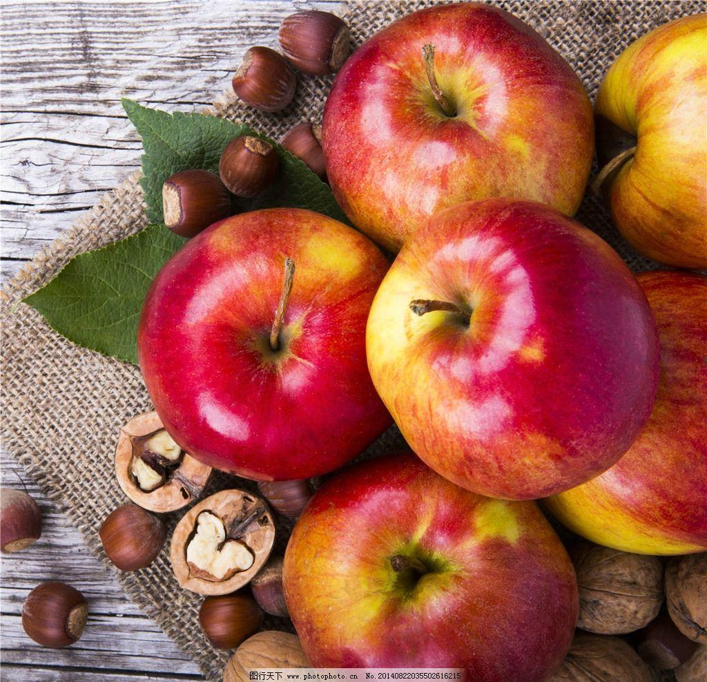 苹果 apple 红苹果 水果 瓜果 大苹果 小苹果 生物世界 摄影 300dpi