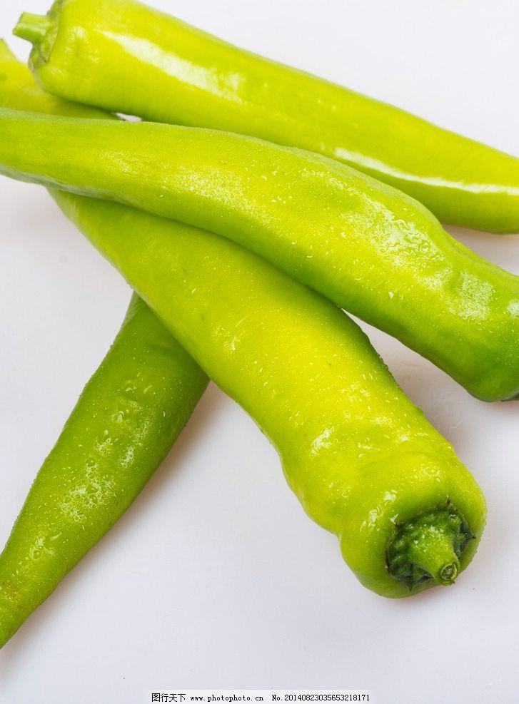 青椒 绿色 蔬菜 食材 大椒 灯笼椒 柿子椒 甜椒 菜椒 水果蔬菜 绿色