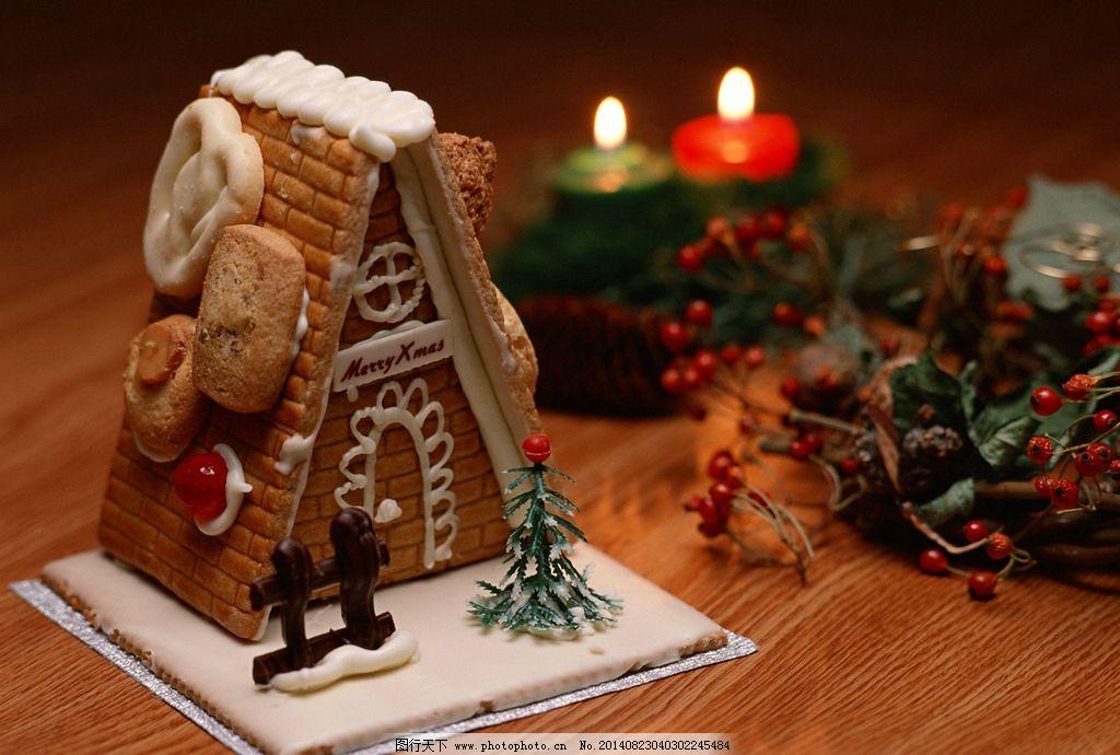 圣诞点心 圣诞糕点 高清图片 摄影素材 美食高清图片 风景类 西餐美食