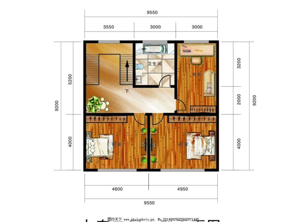 二层 房子 装潢设计                       楼梯 设计 室内设计 环境