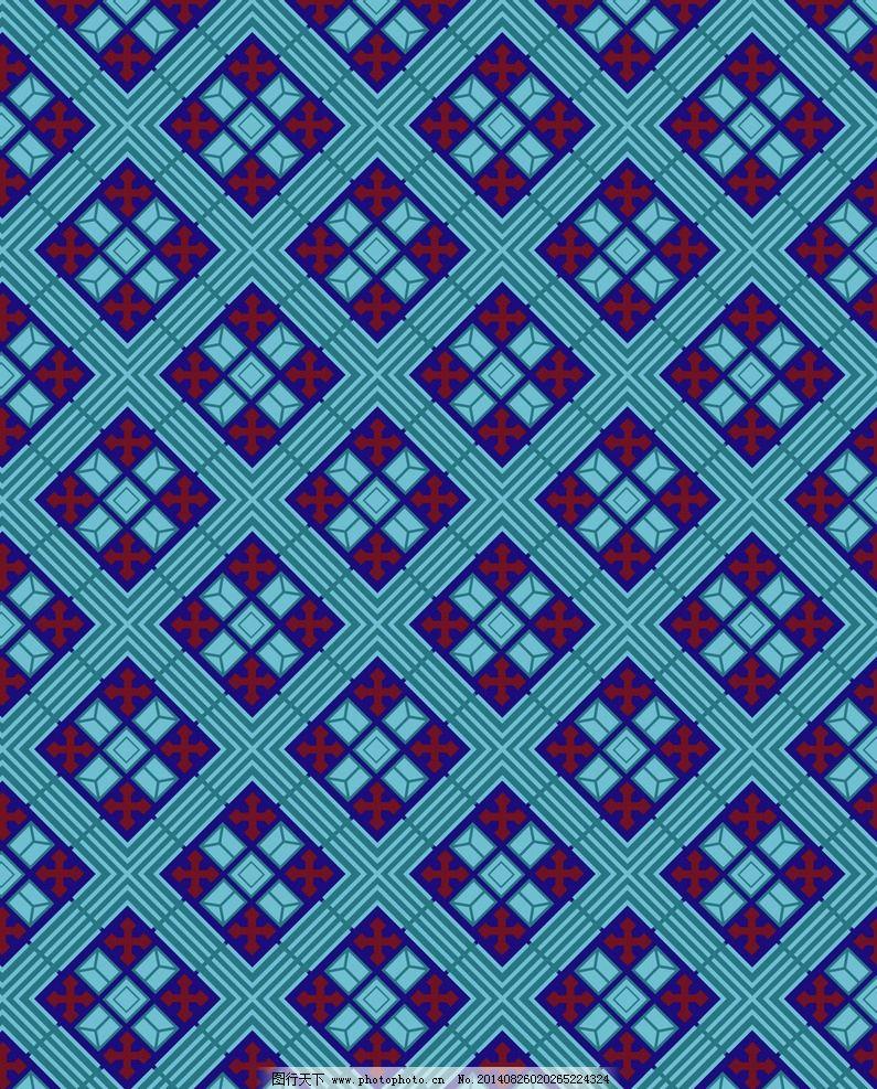 四方连续 几何图案图片