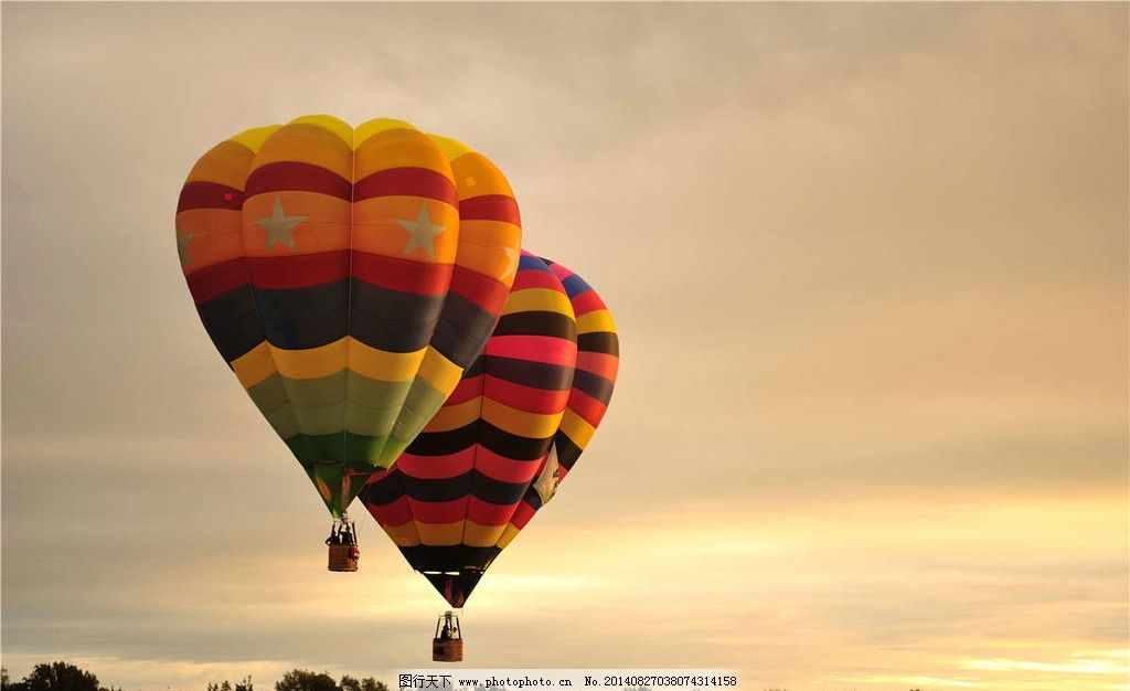 热气球落地方式热图-热气球落地方式图片