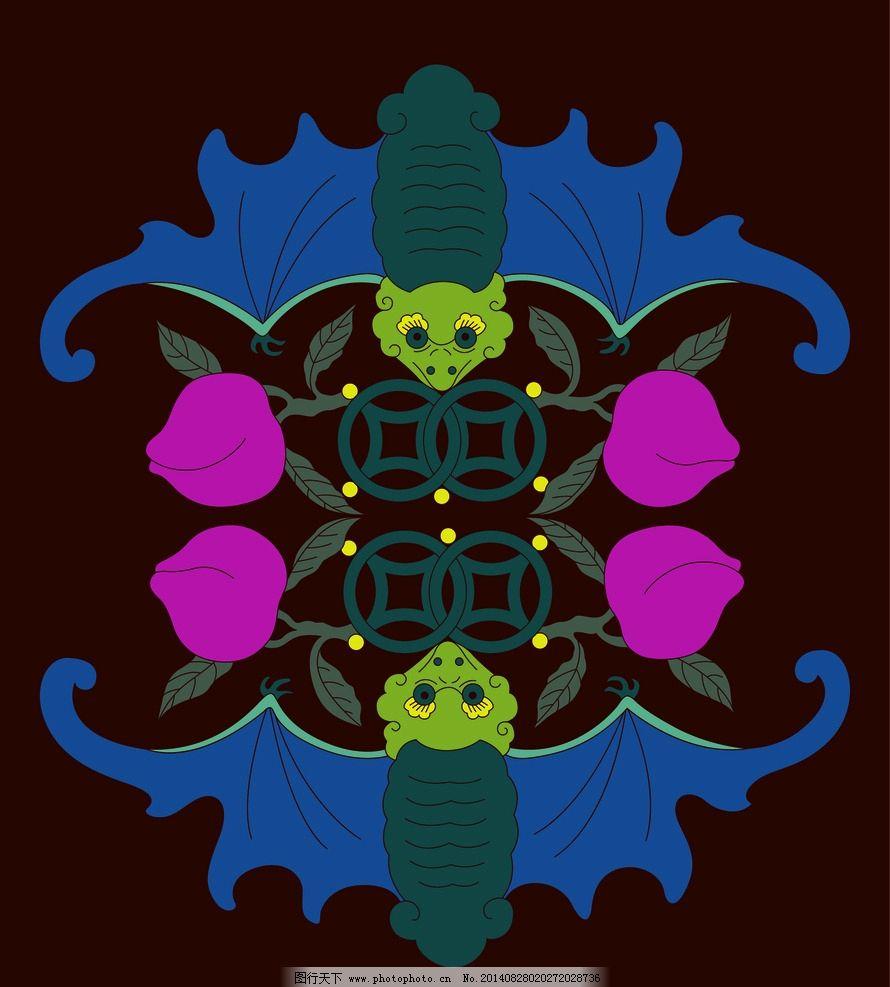 动物花纹 蝙蝠素材图片