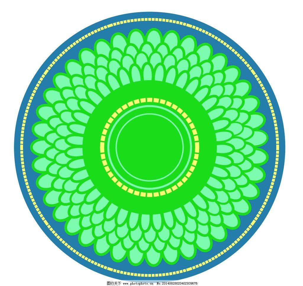 圆形底纹背景图片