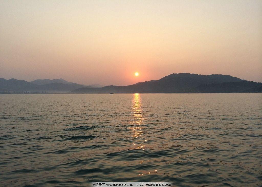 日出 惠州 三角洲岛 海 太阳 摄影