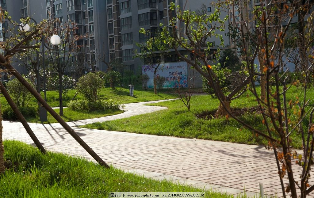 小区景观 欧式 高端 高档小区 小区 社区 水景 铁艺 园林建筑 建筑