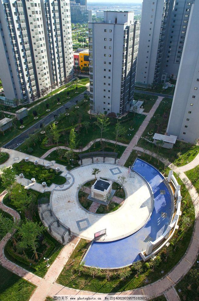 地产样板间        欧式 高端 高档小区 小区 社区 水景 喷泉 铁艺 楼