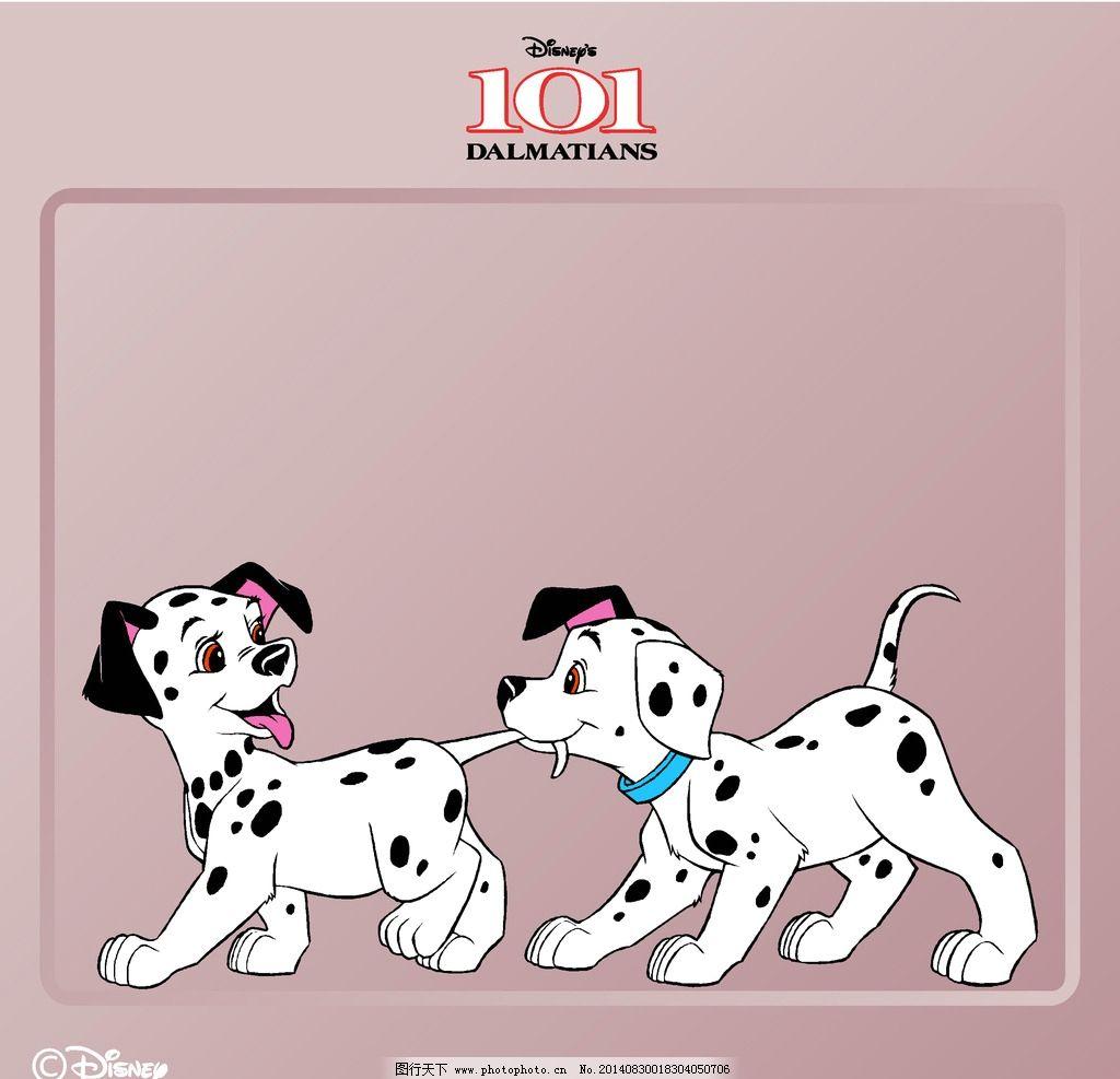 斑点狗 斑点狗 卡通动物 狗 disney 动漫人物 动漫动画 disney 设计