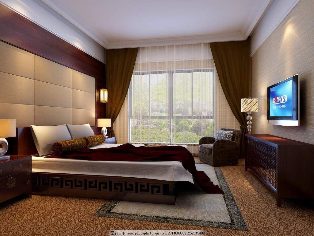 3d卧室效果图设计