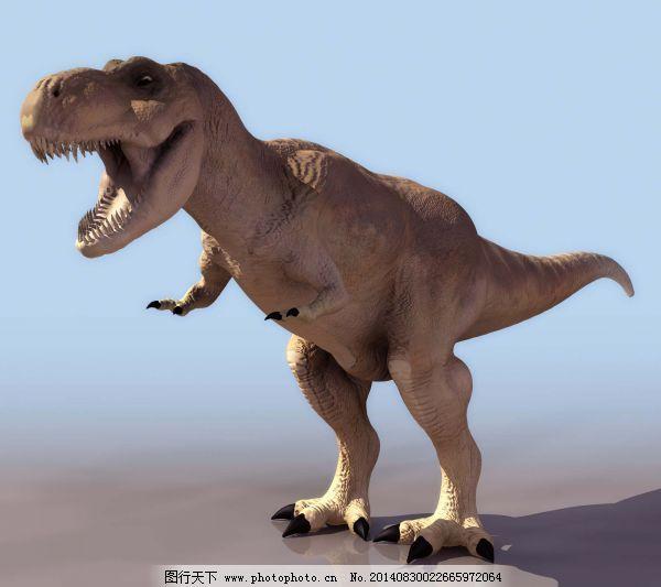 霸王龙免费下载 动物 模型 霸王龙 模型 动物 3d模型素材 游戏cg模型
