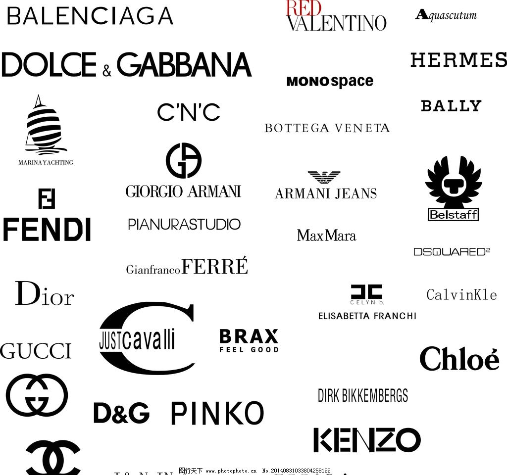 奢侈品logo 化妆品 古驰 dg 化妆品logo 图片素材 其他 设计 其他