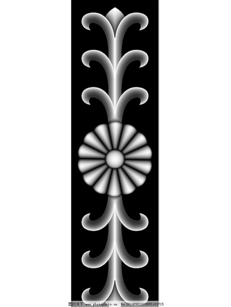 欧式 灰度/欧式门花洋花灰度图片