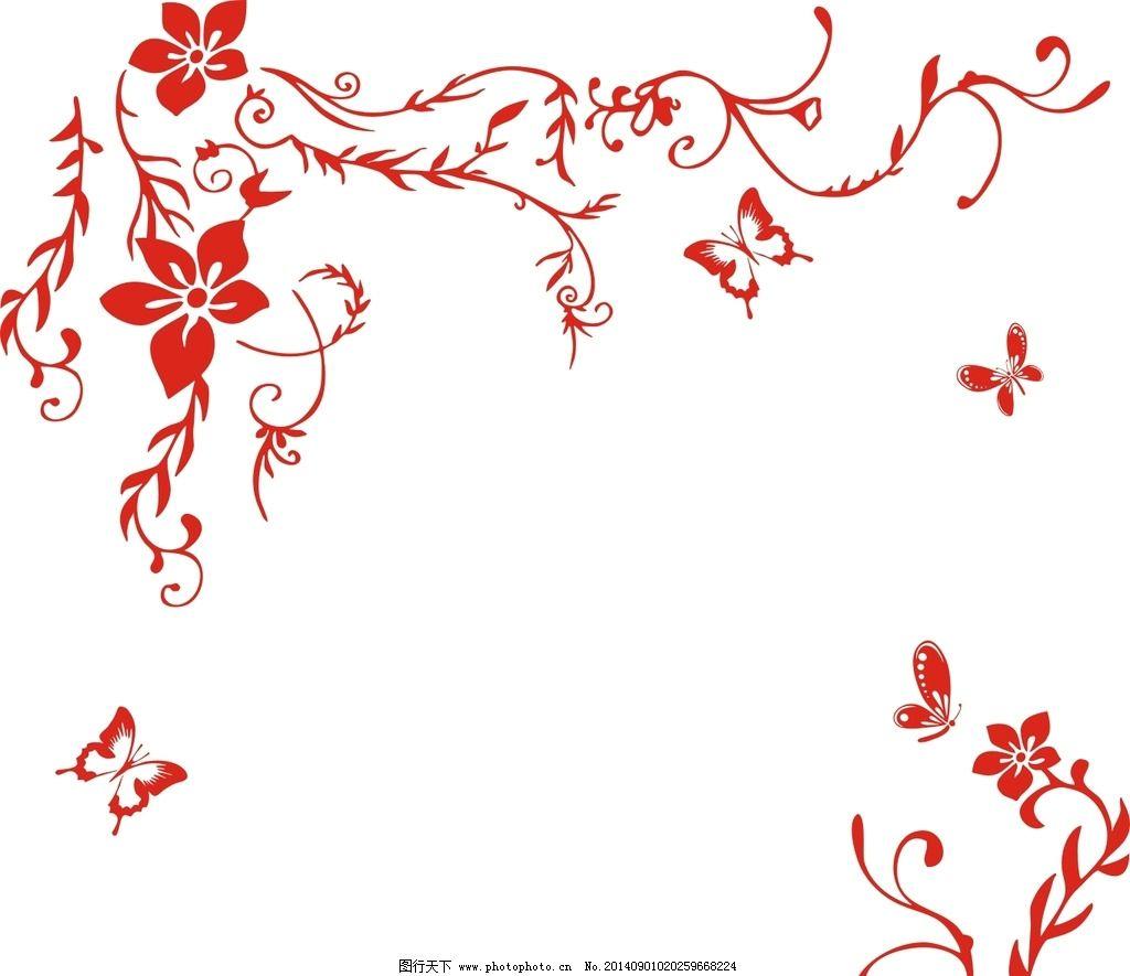 设计图库 底纹边框 背景底纹  矢量 花纹 硅藻泥 设 角花 对角花 室内图片