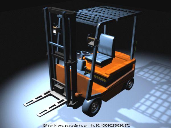 叉车模型 叉车模型免费下载 自动叉车模型