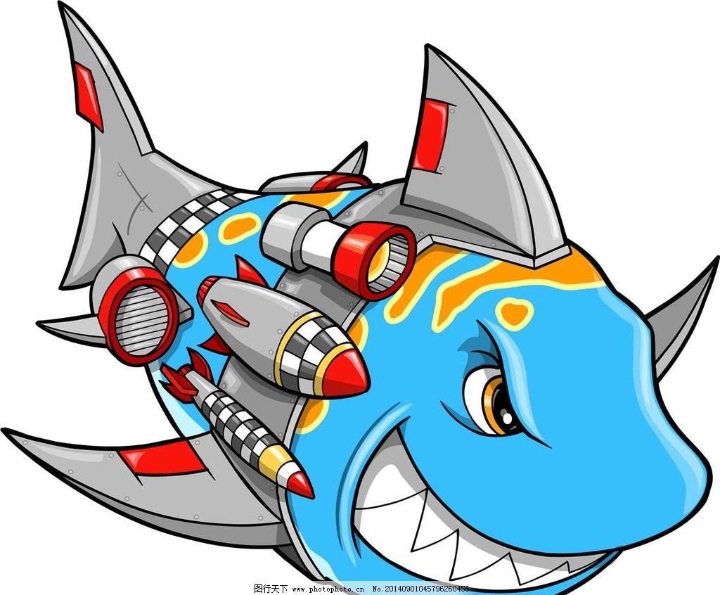 鲨鱼 卡通鲨鱼 鲨鱼设计 鲨鱼图标 海底鲨鱼 海洋生物 生物世界 设计