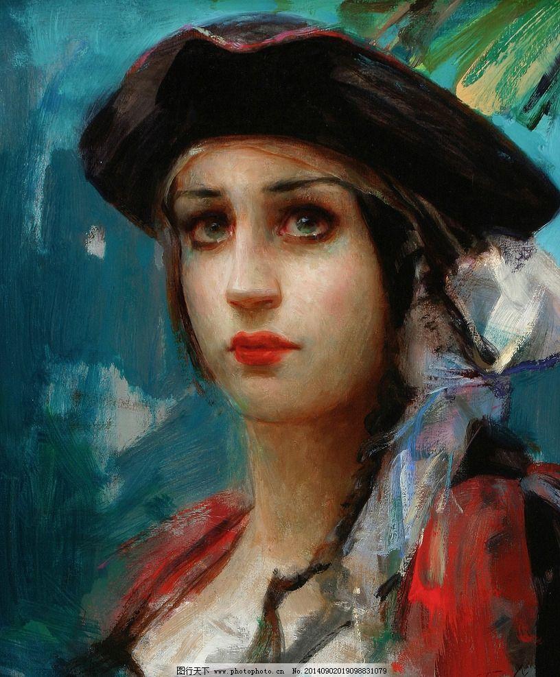 国外油画人物 高清图片国外 设计素材 油画图库 名家作品 油画人物
