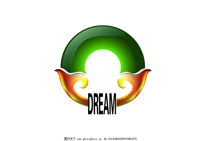 logo 标志设计 房地产标志 标志设计 logo 房地产标志 绿色翡翠 矢量