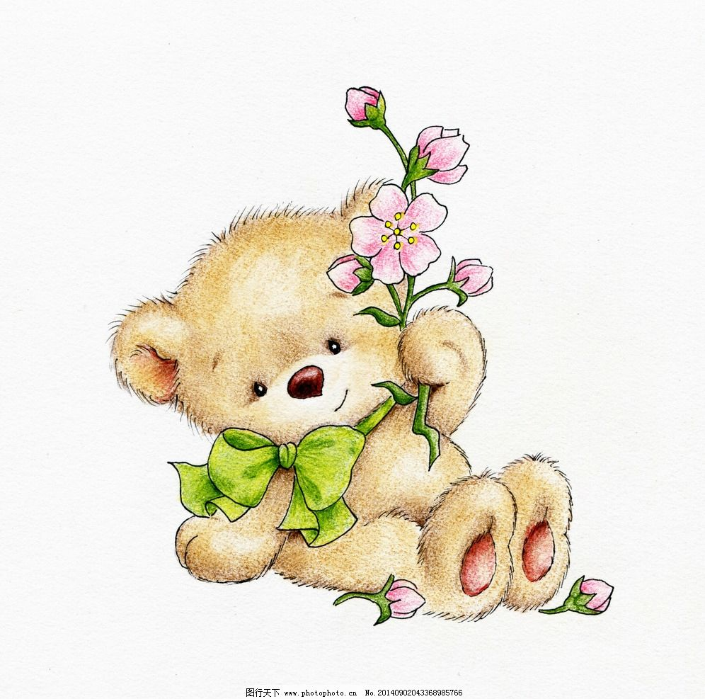 小熊 可爱卡通 卡通小熊
