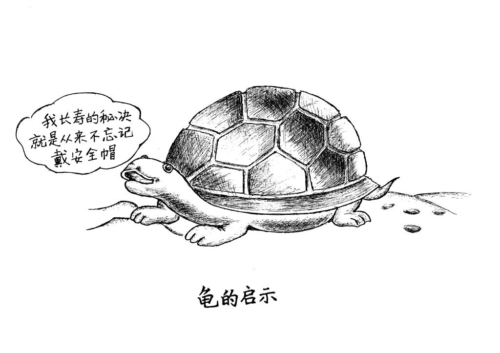 乌龟工业设计手绘