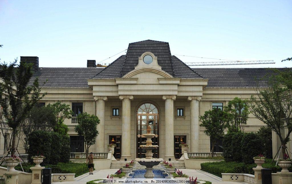 欧式建筑 欧式 建筑 钟楼 罗马柱 法式 建筑摄影 建筑园林 欧式建筑图片