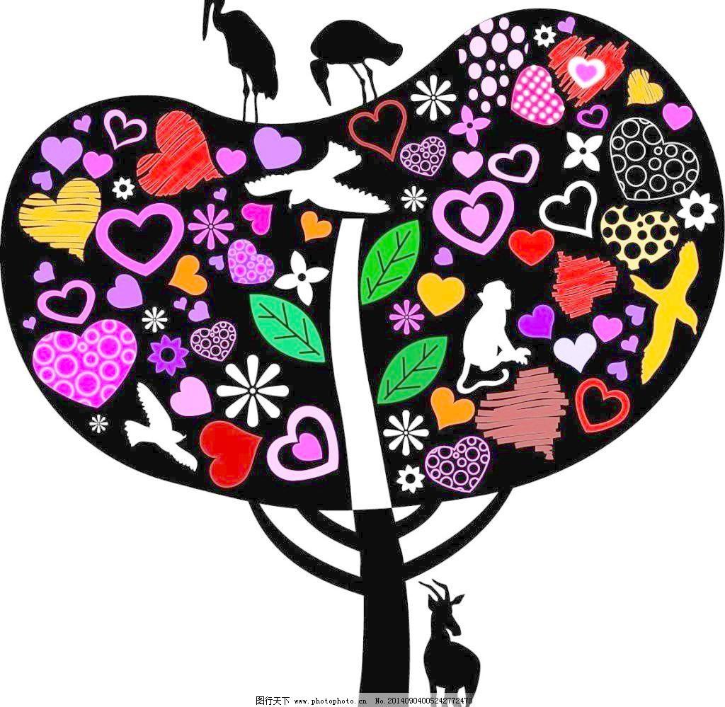 矢量边框花纹 矢量花纹素材 矢量图库 创意大树 矢量花纹素材 矢量