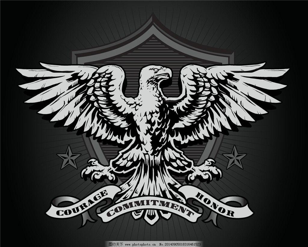 t恤图案 纹身图案 老鹰 t恤设计 t恤花纹 服装设计 t恤 t恤样式 t恤