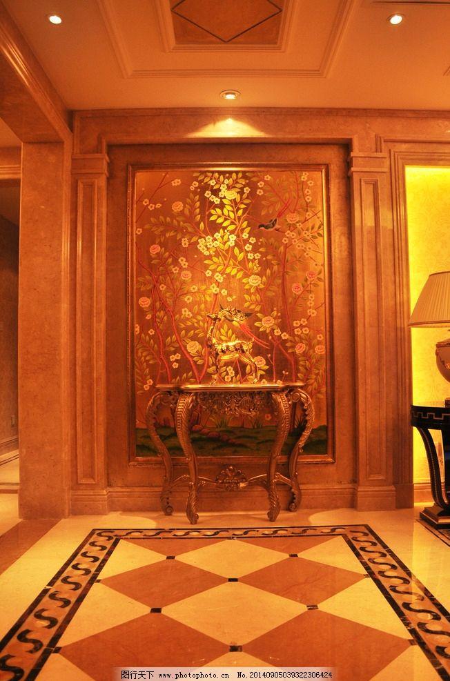欧式大厅 灯光 豪华 简欧风格 奢华 欧式样板房 酒店风格 地板 现代