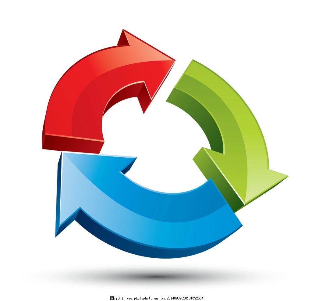 设计图库 标志图标 其他  3d立体图标 logo设计 标识 3d箭头 图标设计图片