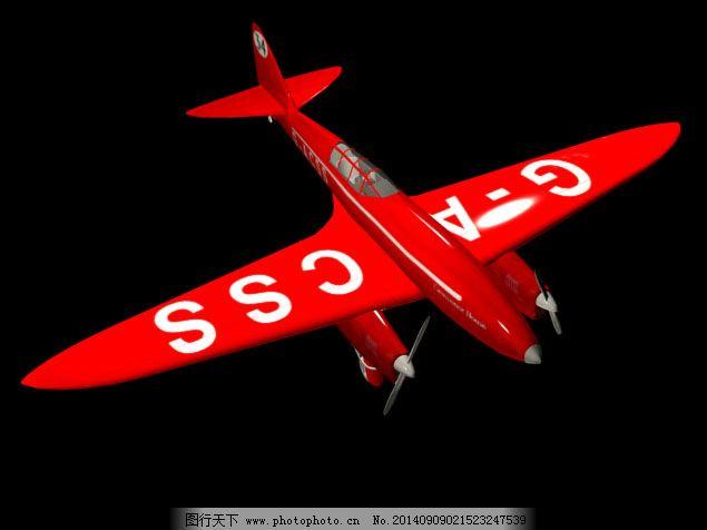 飞机模型免费下载 3d模型 飞机模型 飞机模型 玩具飞机模型 3d模型 3d