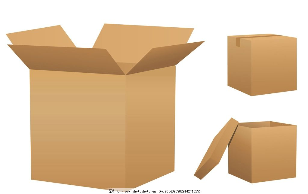 空白纸箱纸盒 包装纸盒 空白 纸箱 纸盒 包装 设计 矢量 包装设计