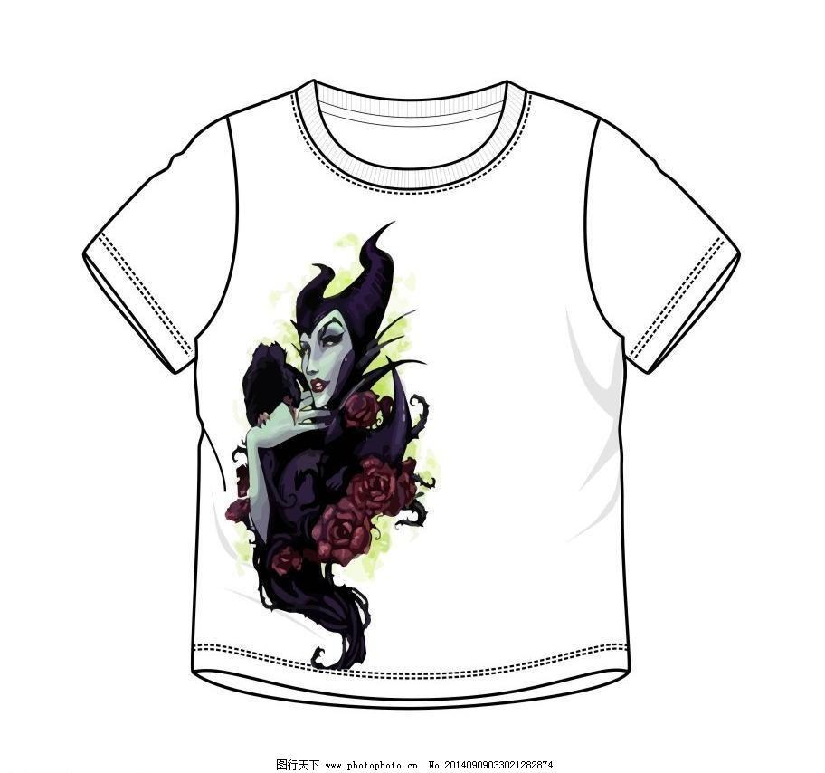 创意t恤图案设计图片