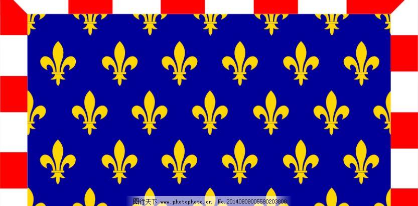 都兰地区旗帜矢量图像免费下载 标志 法国国旗 符号 剪贴画 欧洲 区域