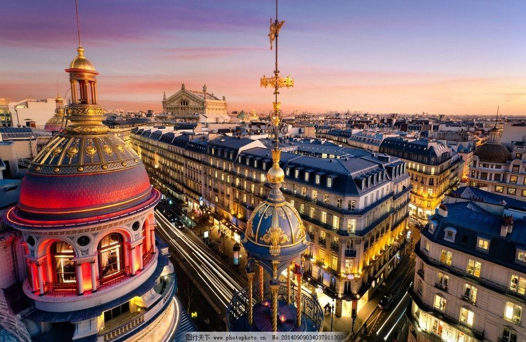 法国夜景-4.20巴黎