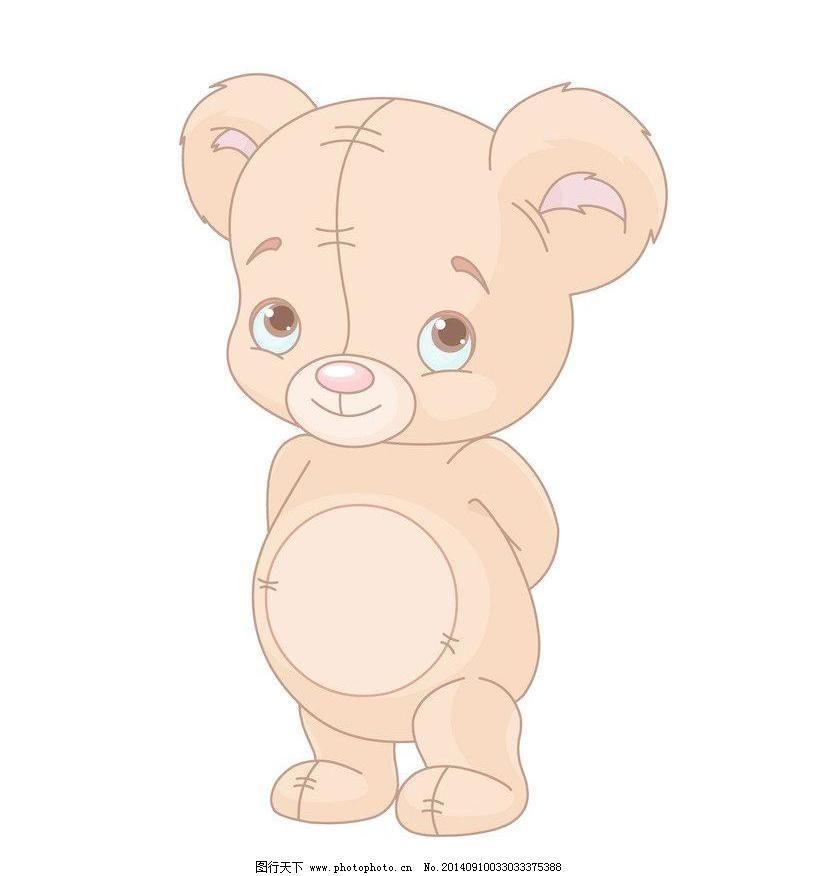 花卉 橘色 可爱卡通小熊 可爱 小熊 爱心 气球 蝴蝶 动物 拥抱 卡通熊