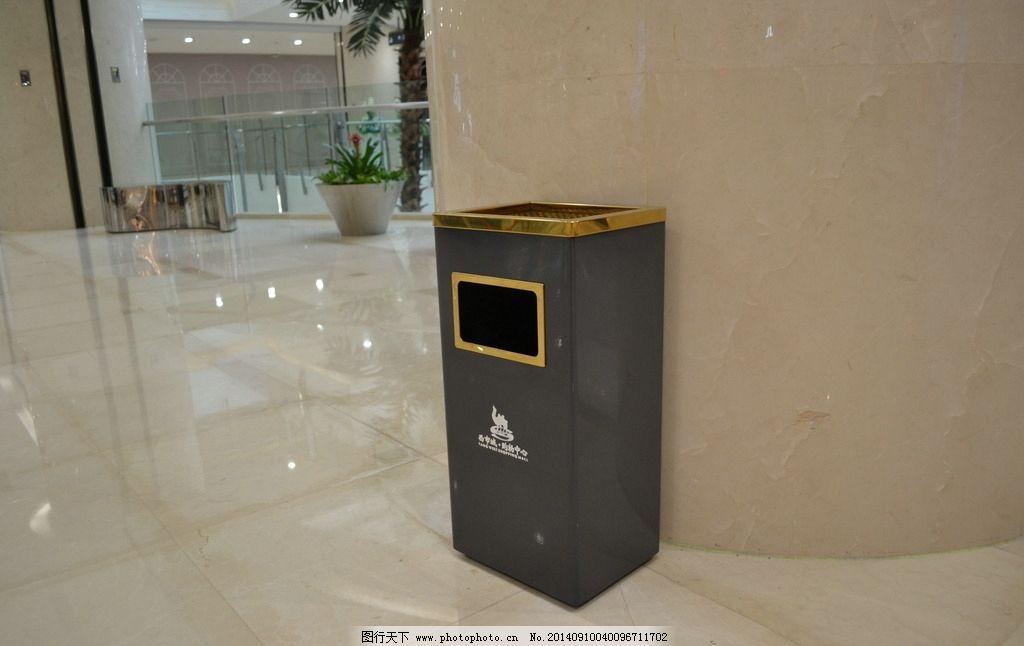 垃圾桶 西安 商业图片