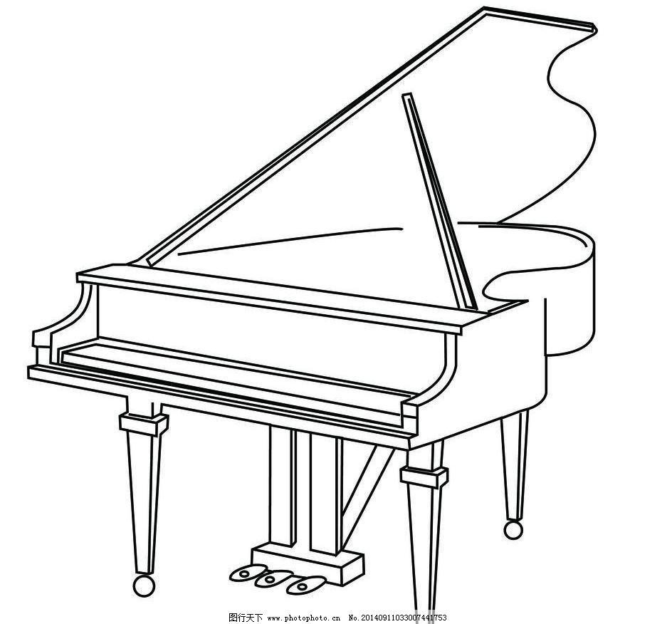 钢琴 三角钢琴图片图片