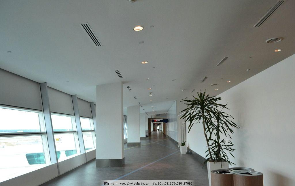 走廊 机场通道 机场 东南亚