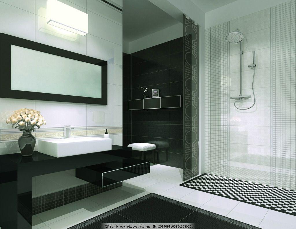 浴室 浴室装饰 卫浴 花洒 厕所 摄影 瓷砖 欧式浴室 室内摄影