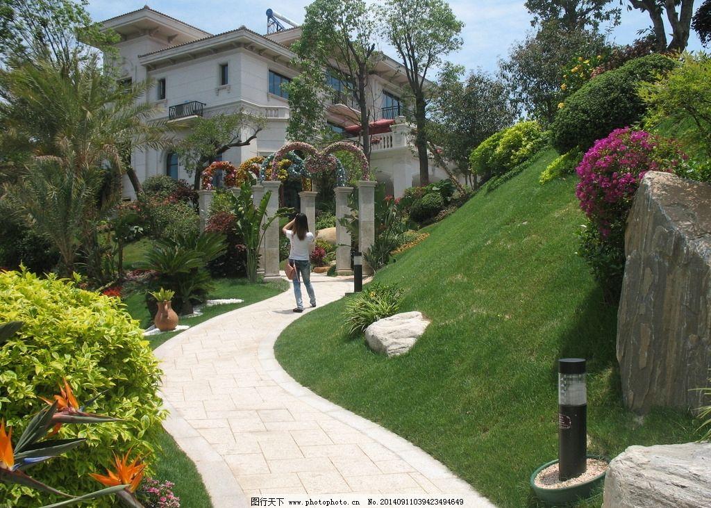 房地产 欧式建筑 欧洲小镇 欧式建筑风格 南安新地标 树木花草 绿化图片