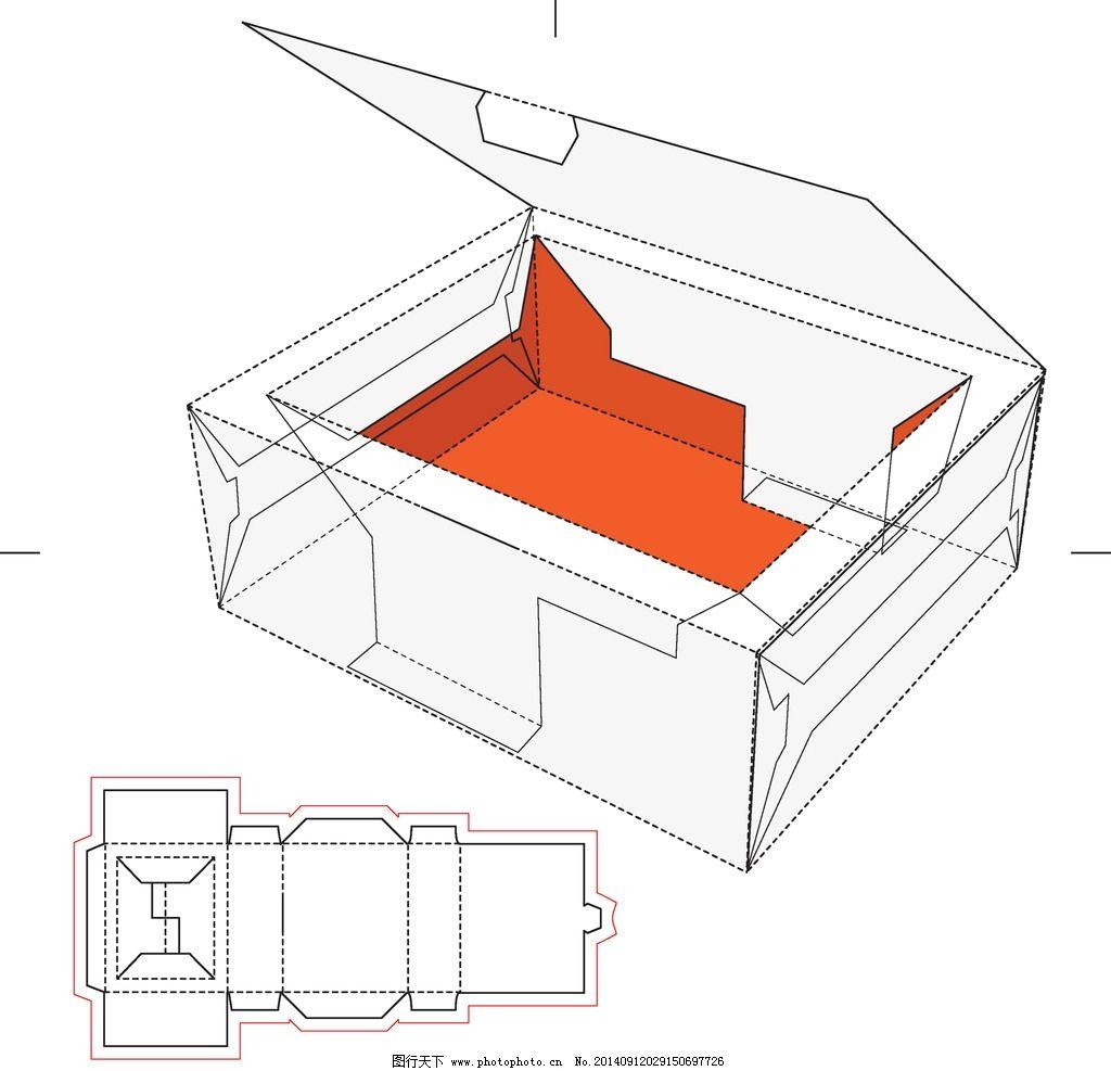 纸盒设计 整体包装 包装盒模板 手绘 包装设计 矢量 eps 产品外包装