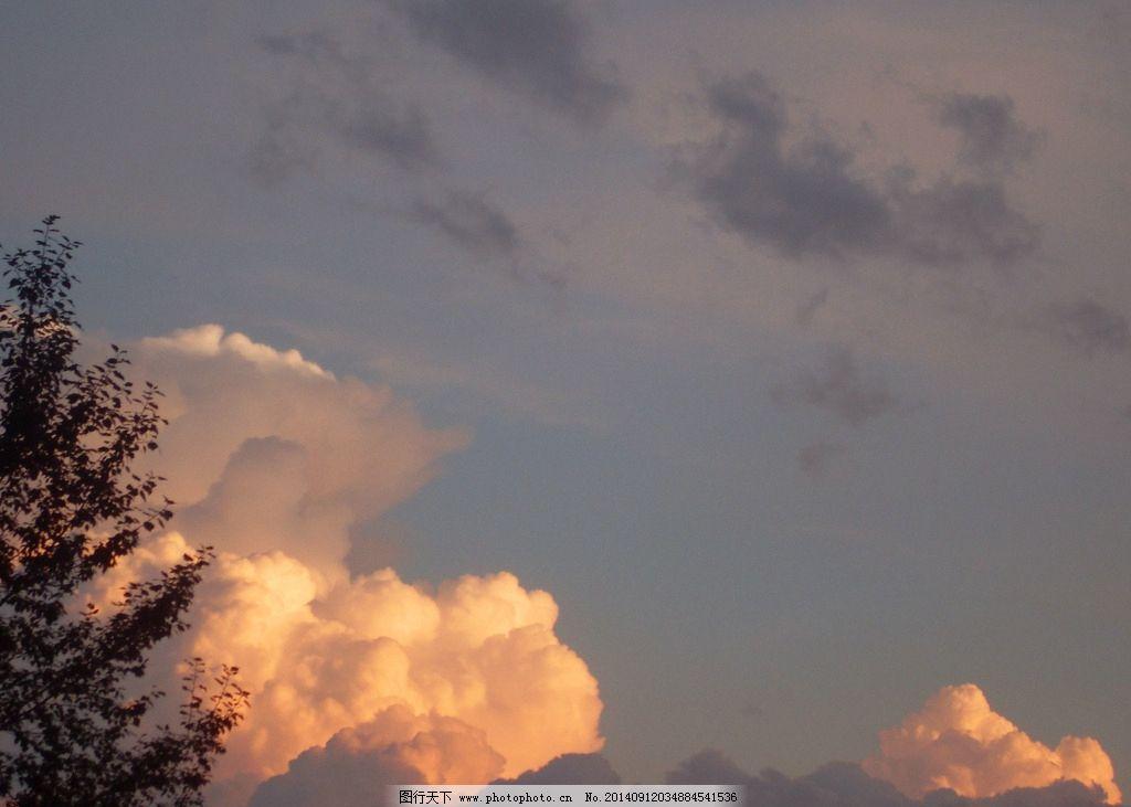 火烧云图片